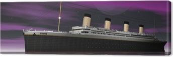 Tableau sur toile Titanic 1912 - 2012