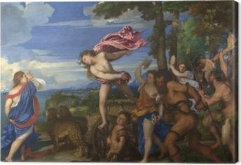 Tableau sur toile Titien - Bacchus et Ariane