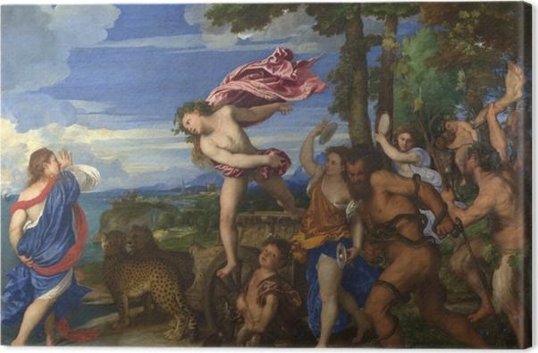 Tableau sur toile Titien - Bacchus et Ariane - Reproductions