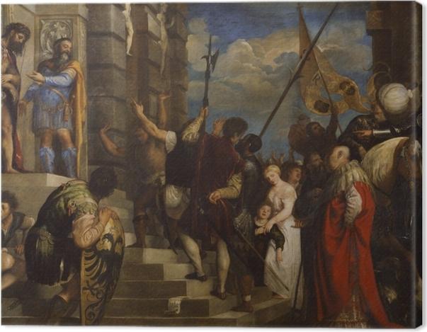 Tableau sur toile Titien - Ecce Homo - Reproductions