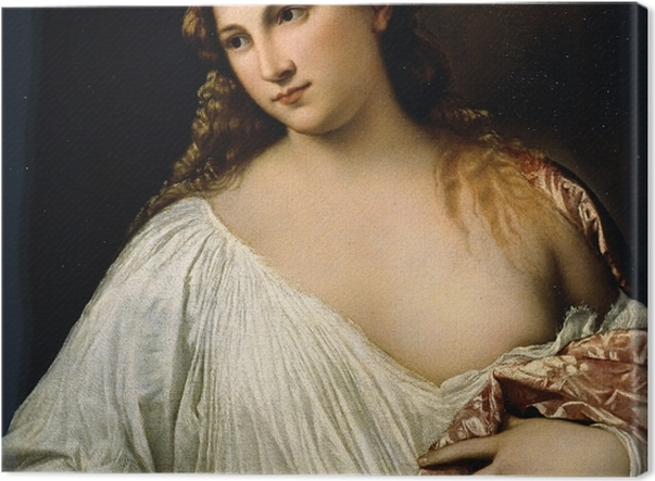 Tableau sur toile Titien - Flore - Reproductions