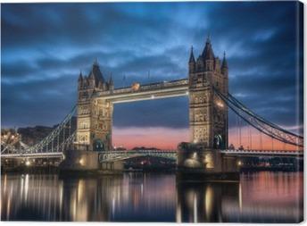 Tableau sur toile Tower Bridge Londres Angleterre