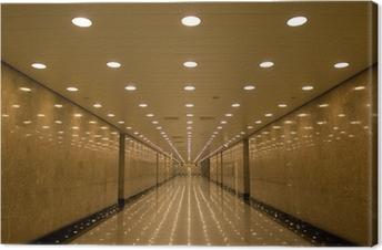 Tableau sur toile Tunnel de lumières