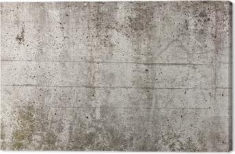 Tableau sur toile Un mur de béton gris pour le fond