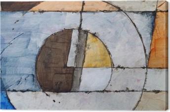 Tableau sur toile Une peinture abstraite