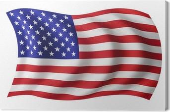 Tableau sur toile USA drapeau Etats-Unis - Drapeau américain