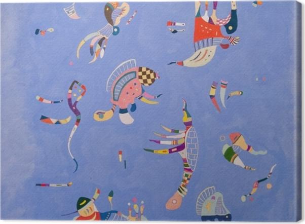 Tableau sur toile Vassily Kandinsky - Bleu de ciel - Reproductions