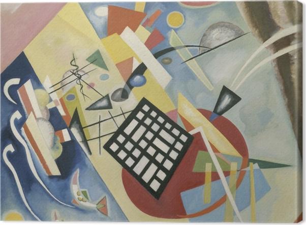 Tableau sur toile Vassily Kandinsky - Grille noire - Reproductions