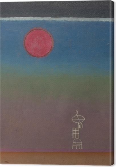 Tableau sur toile Vassily Kandinsky - Loin - Reproductions