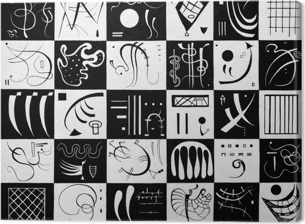 Tableau sur toile Vassily Kandinsky - Trente - Reproductions