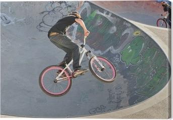 Tableau sur toile Vélo BMX