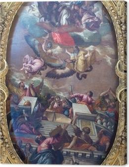 Tableau sur toile Venise - La douleur de l'Immaculée et saints