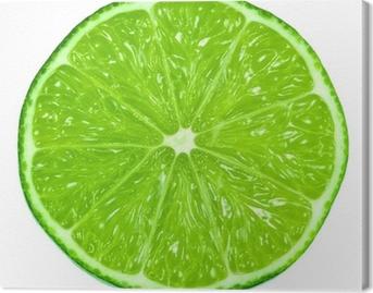 Tableau sur toile Vert lime