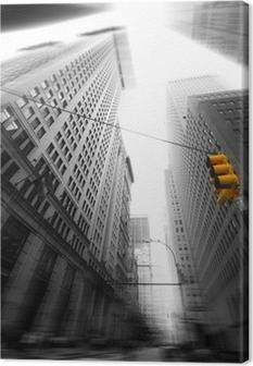 Tableau sur toile Vie à New York