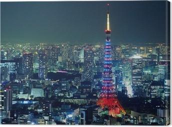Tableau sur toile Ville de tokyo
