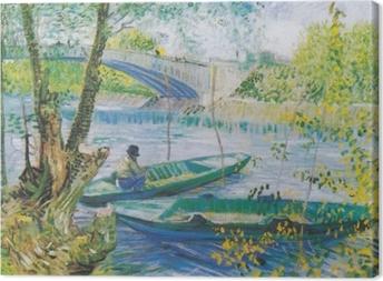 Tableau sur toile Vincent van Gogh - À la porte de l'éternité