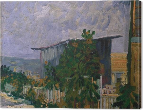 Tableau sur toile Vincent van Gogh - Abri de Montmartre - Reproductions