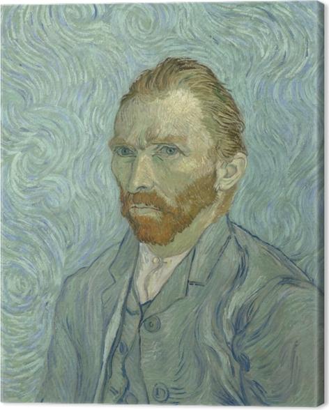Tableau sur toile Vincent van Gogh - Autoportrait - Reproductions