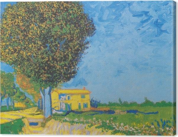 Tableau sur toile Vincent van Gogh - Avenue près de Arles - Reproductions