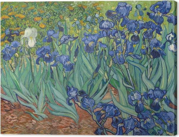 Tableau sur toile Vincent van Gogh - Iris - Reproductions