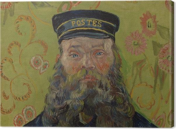 Tableau sur toile Vincent van Gogh - Joseph-Etienne Roulin - Reproductions
