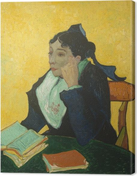 Tableau sur toile Vincent van Gogh - L'Arlésienne - Reproductions