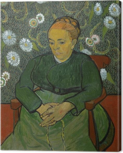 Tableau sur toile Vincent van Gogh - La Berceuse - Reproductions