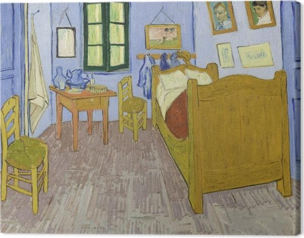 Tableau sur toile Vincent van Gogh - La Chambre de Van Gogh à Arles - Reproductions