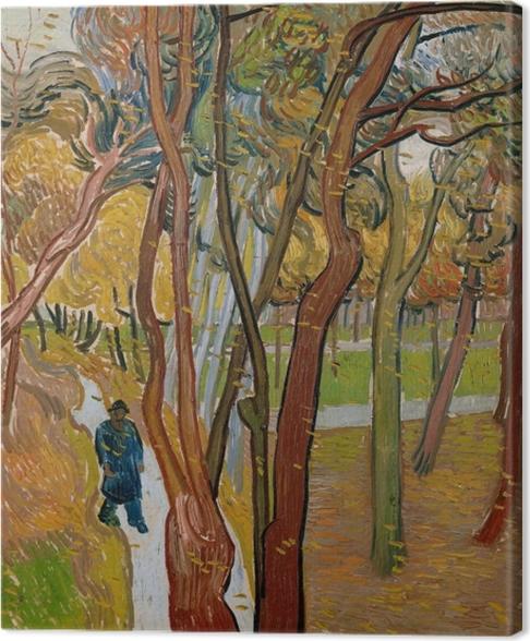 Tableau sur toile Vincent van Gogh - La chute des feuilles - Reproductions