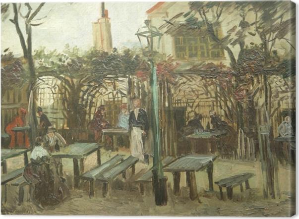 Tableau sur toile Vincent van Gogh - La Guinguette - Reproductions