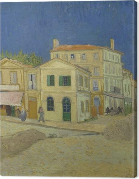 Tableau sur toile Vincent van Gogh - La Maison jaune - Reproductions