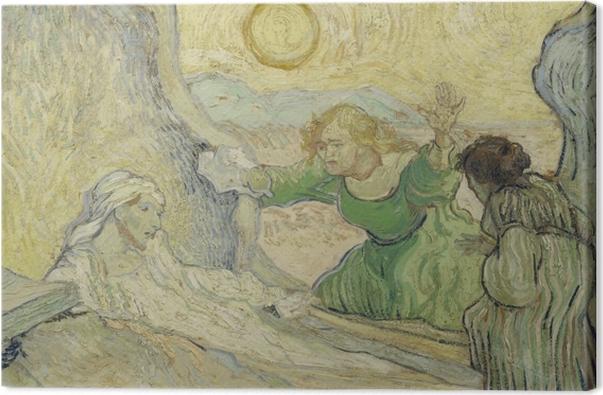 Tableau sur toile Vincent van Gogh - La résurrection de Lazare - Reproductions