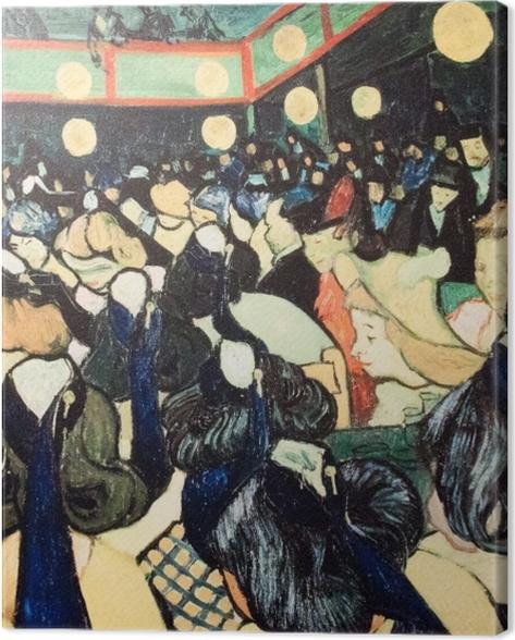 Tableau sur toile Vincent van Gogh - La Salle de danse à Arles - Reproductions