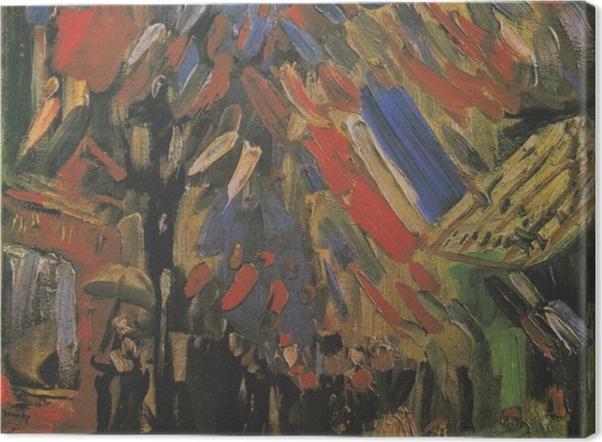 Tableau sur toile Vincent van Gogh - Le 14 Juillet - Reproductions