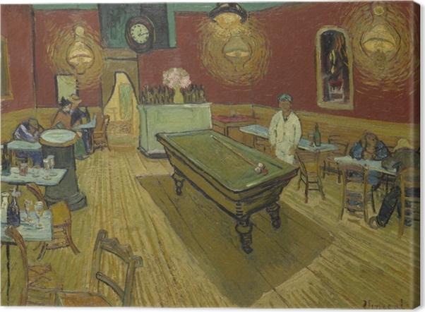 Tableau sur toile Vincent van Gogh - Le Café de nuit - Reproductions