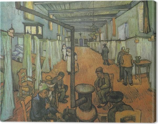 Tableau sur toile Vincent van Gogh - Le Dortoir de l'hôpital d'Arles - Reproductions