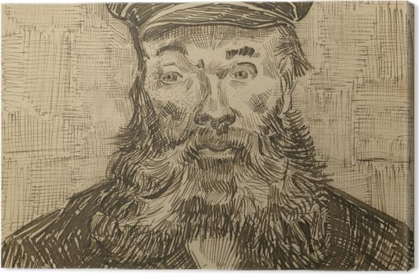 Tableau sur toile Vincent van Gogh - Le facteur Joseph Roulin - Reproductions