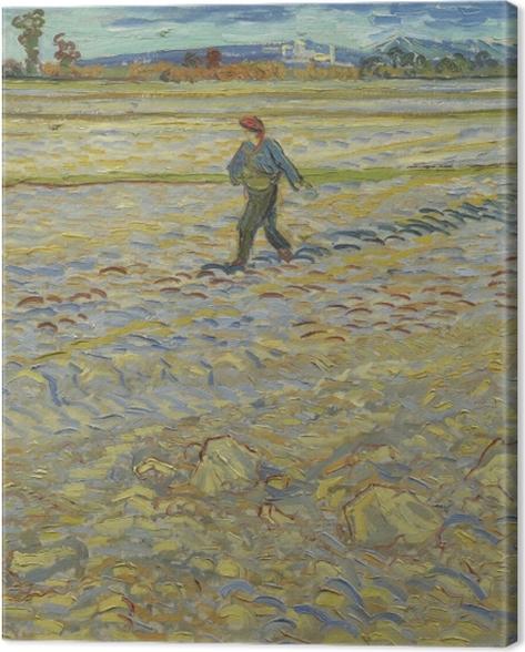 Tableau sur toile Vincent van Gogh - Le Seumer - Reproductions