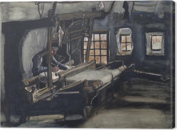 Tableau sur toile Vincent van Gogh - Le Tisserand - Reproductions