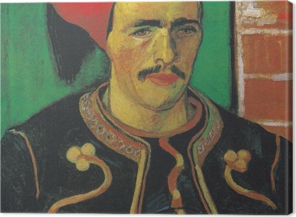 Tableau sur toile Vincent van Gogh - le Zouave - Reproductions