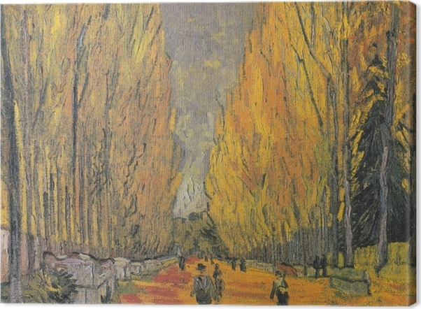 Tableau sur toile Vincent van Gogh - Les Alyscamps - Reproductions