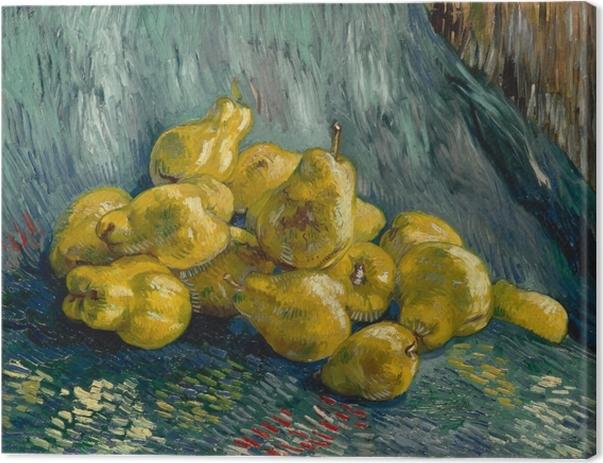 Tableau sur toile Vincent van Gogh - Nature morte avec coings - Reproductions