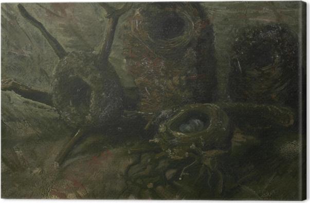 Tableau sur toile Vincent van Gogh - Nids d'oiseau - Reproductions