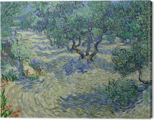 Tableau sur toile Vincent van Gogh - Oliveraie - Reproductions