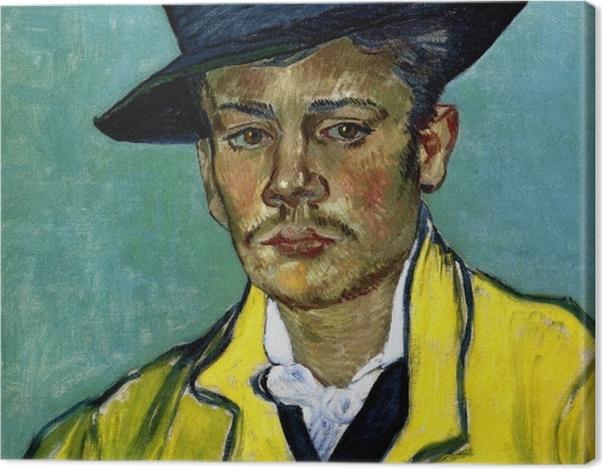 Tableau sur toile Vincent van Gogh - Portrait d'Armand Roulin - Reproductions
