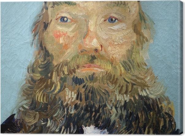 Tableau sur toile Vincent van Gogh - Portrait de Joseph Roulin - Reproductions