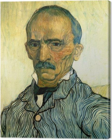Tableau sur toile Vincent van Gogh - Portrait de Monsieur Trabuc, intendant de l'hôpital Saint-Paul - Reproductions