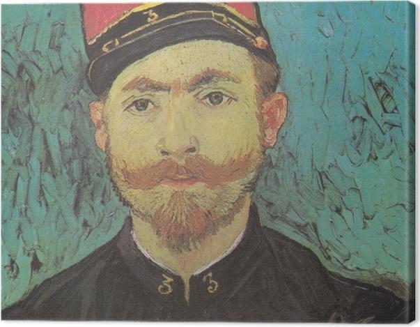 Tableau sur toile Vincent van Gogh - Portrait de Paul-Eugène Milliet - Reproductions