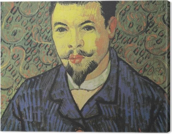 Tableau sur toile Vincent van Gogh - Portrait du docteur Rey - Reproductions