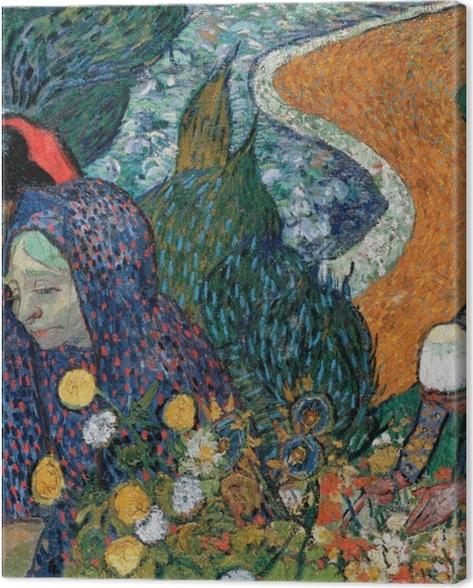 Tableau sur toile Vincent van Gogh - Souvenir du jardin à Etten - Reproductions